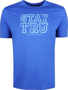 T-shirt Trussardi z bawełny