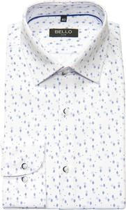 Koszula Bello z bawełny z długim rękawem