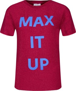 Bluzka Max & Co. z krótkim rękawem w młodzieżowym stylu