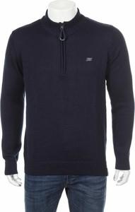 Granatowy sweter New Man