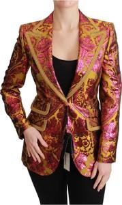Różowa marynarka Dolce & Gabbana długa