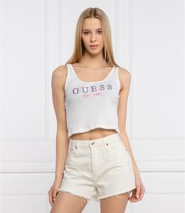 Bluzka Guess z okrągłym dekoltem