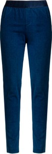 Granatowe jeansy Deha