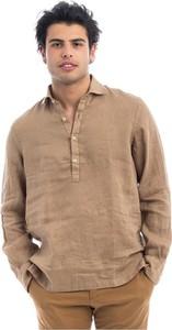 Brązowa koszula Altea z długim rękawem