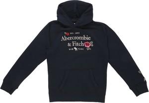 Granatowa bluza dziecięca Abercrombie & Fitch
