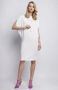 bdb679899d eleganckie sukienki ecru - stylowo i modnie z Allani