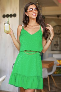 Zielona sukienka IVET mini