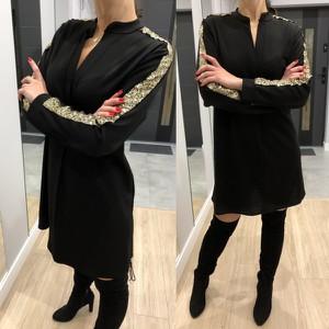 Sukienka ModnaKiecka.pl prosta w stylu casual mini