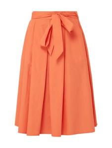 Spódnica Montego midi z bawełny