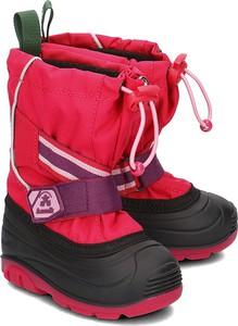 Buty dziecięce zimowe Kamik na rzepy