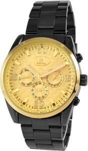 Ik Colouring Złoto-czarny zegarek mechaniczny