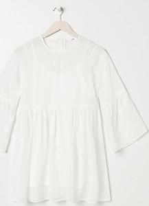 Sukienka Sinsay mini z kołnierzykiem w stylu casual