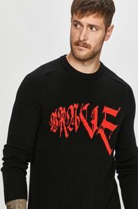 Czarny sweter Diesel w młodzieżowym stylu