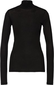 Czarna bluzka G-Star Raw z długim rękawem