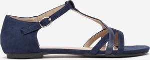 Granatowe sandały Multu