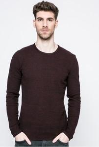 Bordowy sweter Blend