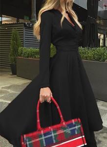 Sukienka Sandbella z długim rękawem