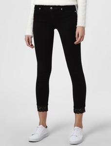 Czarne jeansy Liu-Jo w street stylu