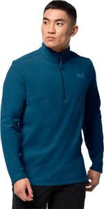 Niebieska bluza Autoryzowany Sklep Jack Wolfskin z plaru