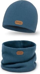 Granatowa czapka PaMaMi
