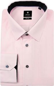 Różowa koszula Rey Jay z długim rękawem