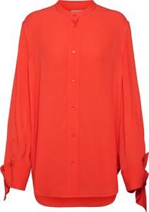 Koszula Calvin Klein z tkaniny bez kołnierzyka