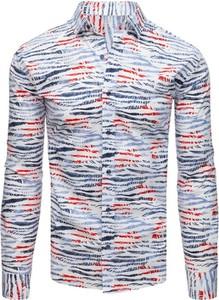 Koszula Dstreet z kołnierzykiem button down z długim rękawem