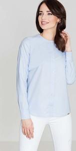Niebieska bluzka Katrus z bawełny