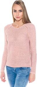 Różowy sweter Hilfiger Denim