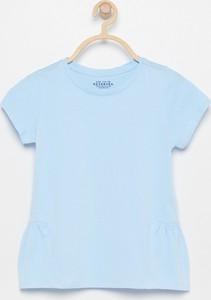 Niebieska koszulka dziecięca Reserved z krótkim rękawem