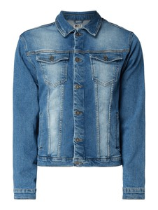 Niebieska kurtka Mr. F z bawełny