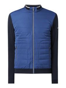 Niebieska kurtka Bugatti w stylu casual