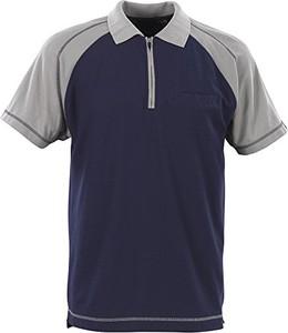 Niebieski t-shirt Mascot z krótkim rękawem