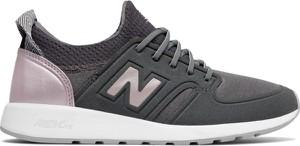 Buty sportowe New Balance w street stylu z płaską podeszwą sznurowane