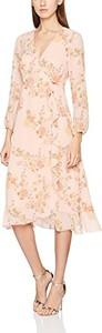 Różowa sukienka springfield