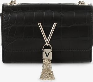 Czarna torebka Valentino ze skóry mała