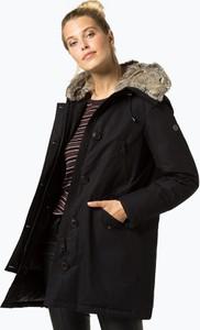 Granatowy płaszcz Blonde No. 8 z plaru