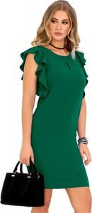 Sukienka MERRIBEL midi z okrągłym dekoltem