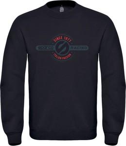 Granatowa bluza Sparco z bawełny w młodzieżowym stylu