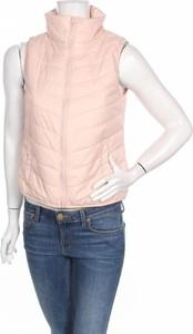Różowa kamizelka ARIZONA w stylu casual krótka