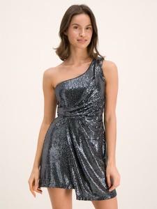 Srebrna sukienka Liu-Jo mini