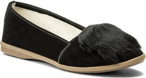Czarne półbuty sergio bardi z płaską podeszwą w stylu casual