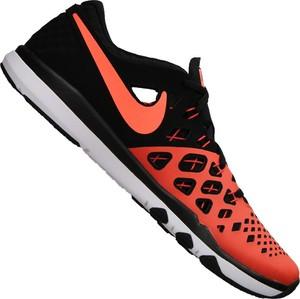 Buty sportowe Nike z tkaniny sznurowane w sportowym stylu