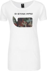 T-shirt G-Star Raw z krótkim rękawem w młodzieżowym stylu