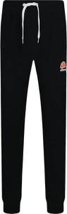 Czarne spodnie sportowe Ellesse w sportowym stylu z dresówki