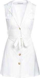 Sukienka Multu z dekoltem w kształcie litery v bez rękawów