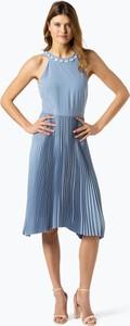 Niebieska sukienka Esprit midi