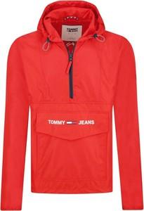 Czerwona kurtka Tommy Jeans