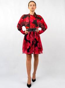 Sukienka Babylon mini z długim rękawem