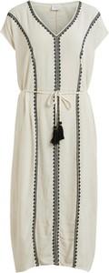 Sukienka Vila w stylu casual z krótkim rękawem mini
